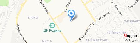 Детская библиотека на карте Бердска