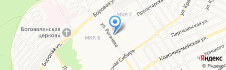 Магазин цветов и семян на карте Бердска