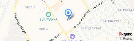 Детский сад №26 на карте Бердска