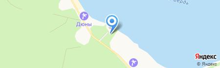 Русская баня на дровах на карте Бердска