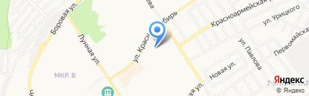 ВВ на карте Бердска