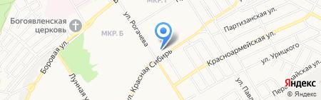 На Березовой на карте Бердска