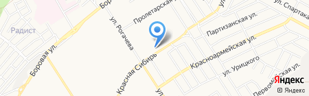 Взмах+ на карте Бердска