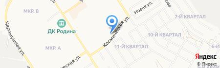 Бердская мебельная фабрика на карте Бердска
