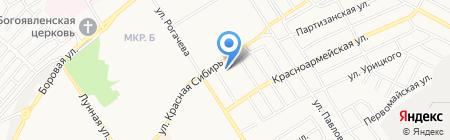 Хмельная таверна на карте Бердска