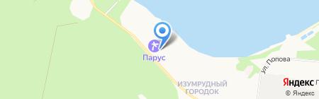 ПАРУС на карте Бердска