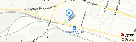 Альфа-Транс на карте Новосибирска