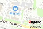 Схема проезда до компании Все по 40 в Новосибирске