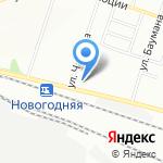 Школьник на карте Новосибирска