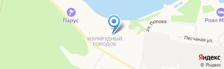КодА на карте Бердска