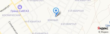ТротуАРТ на карте Бердска