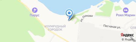 Лесная сказка на карте Бердска