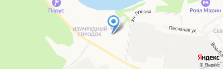 Детский сад №16 на карте Бердска
