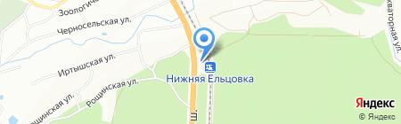 Калипсо на карте Новосибирска