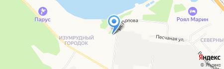 Аригато на карте Бердска