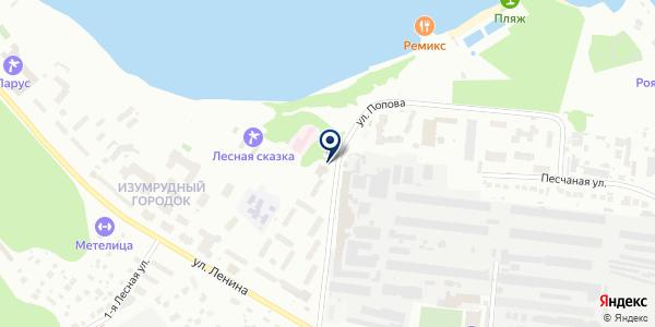 Эникомп на карте Бердске