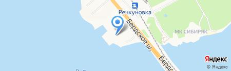 АКВАЛЭНД на карте Бердска