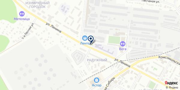 SmartResolve на карте Бердске