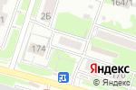 Схема проезда до компании Магазин крепежных изделий в Новосибирске
