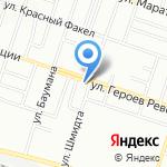 Находка на карте Новосибирска