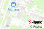 Схема проезда до компании Первомайская в Новосибирске