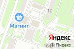 Схема проезда до компании Моника в Новосибирске