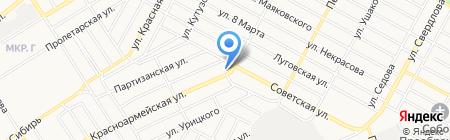 Почтовое отделение №3 на карте Бердска