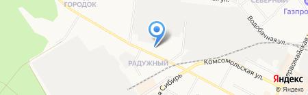 Вечерняя сменная общеобразовательная школа на карте Бердска