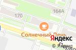Схема проезда до компании Логос в Новосибирске