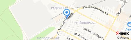 Энергосклад+ на карте Бердска