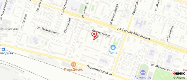 Карта расположения пункта доставки Новосибирск Шмидта в городе Новосибирск