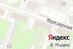 Схема проезда до компании Магазин садовых товаров и крепежа в Новосибирске