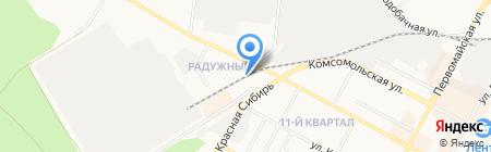 Бердское городское общество охотников и рыболовов на карте Бердска