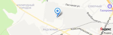 Сухарёвъ на карте Бердска