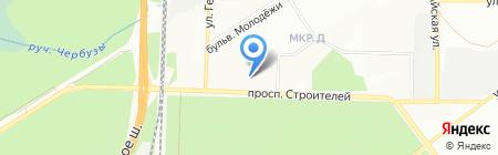 Ориентир на карте Новосибирска
