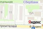 Схема проезда до компании Под ключ в Новосибирске