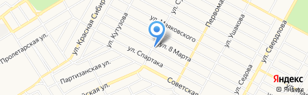 Строительно-ремонтная компания на карте Бердска