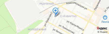 Участковый пункт полиции №1 на карте Бердска