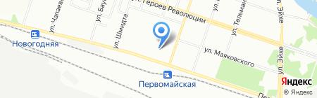 Детский сад №11 на карте Новосибирска
