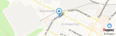 Авто-Шик на карте Бердска