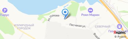 Вега на карте Бердска