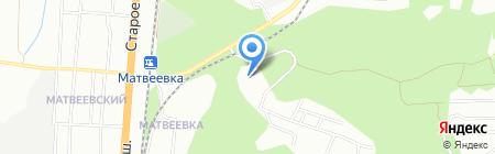 Средняя общеобразовательная школа №117 на карте Новосибирска