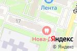 Схема проезда до компании Этюд в Новосибирске