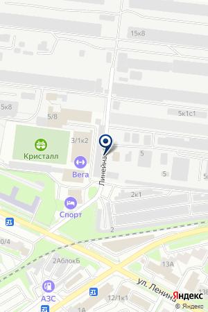 АВТОМОЙКА КРАФТ на карте Бердска