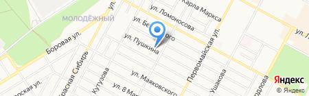 Бердская христианская церковь на карте Бердска
