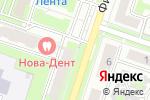 Схема проезда до компании Первый строительный фонд в Новосибирске