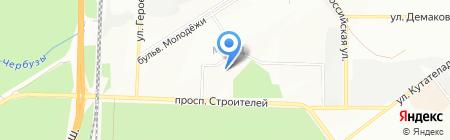 Вечерняя (сменная) школа №35 на карте Новосибирска