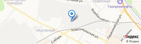 Стеклокомпания СТК на карте Бердска