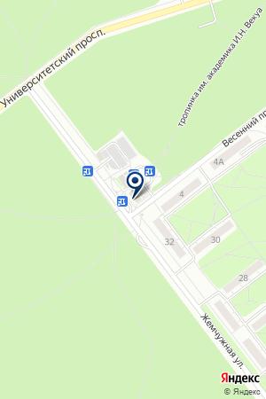 АВТОБУСНЫЕ ДИСПЕТЧЕРСКИЕ на карте Новосибирска