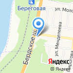 ЗАПАСКА на карте Новосибирска